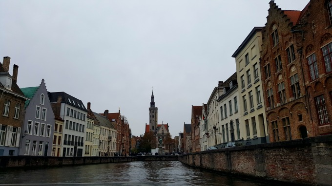 Bruges from the river 2