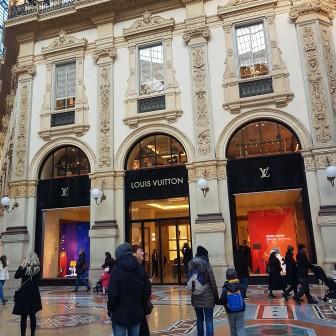 in Galleria Vittorio Emanuele II