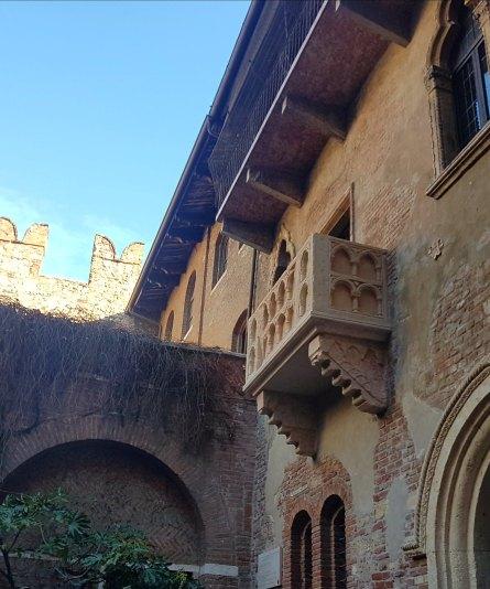 Giulietta's balcony