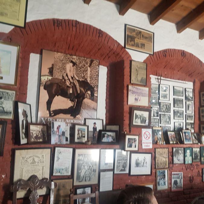 inside the shop of Molino el Vinculo