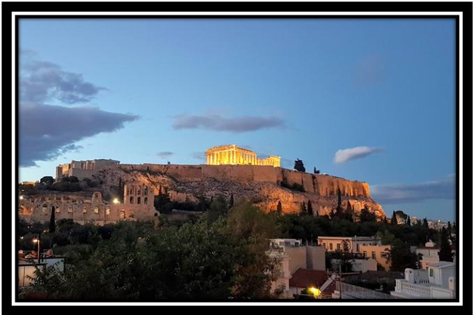 Acropolis framed