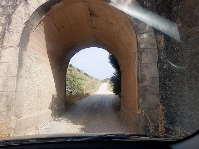 Drive through tunnel