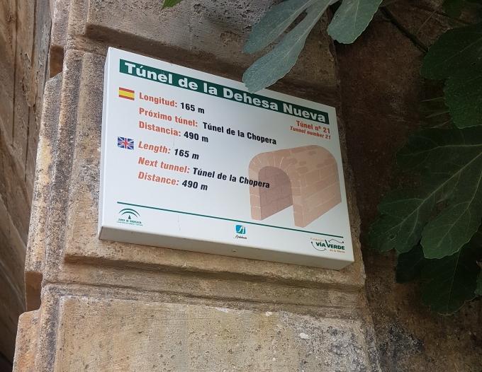 Tunnel Dehesa Nueva 165m